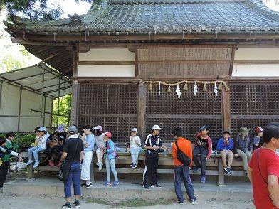 ウォークラリー2 神社