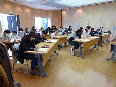 ちばキャンプ12 作文教室