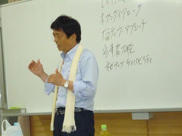 2回沖縄キャンプ 前夜学習会 伸二