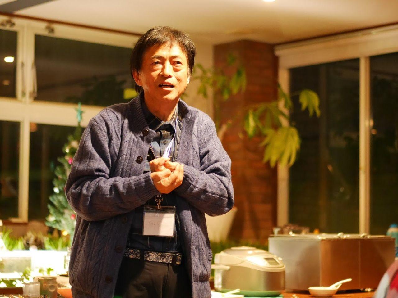 伊藤のスピーチ
