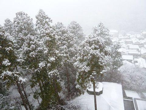 金沢 雪景色