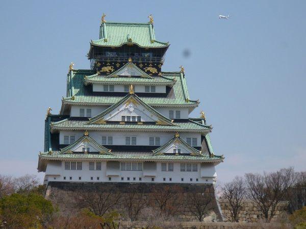 花見 大阪城