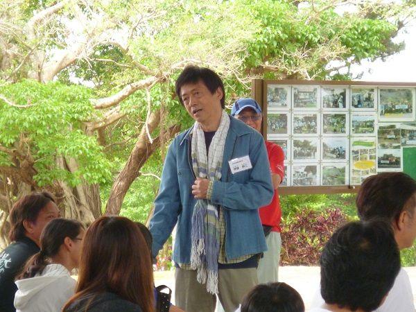 2回沖縄キャンプ 開会式伸二挨拶