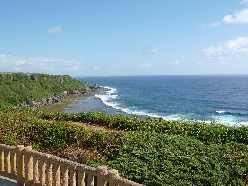 沖縄 祈念館 海