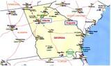 Augustaへの地図