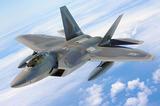 レーダーに捕獲されないステルス戦闘機F-22 RAPTER