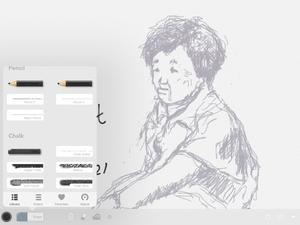 お絵かきアプリ、Art set 4