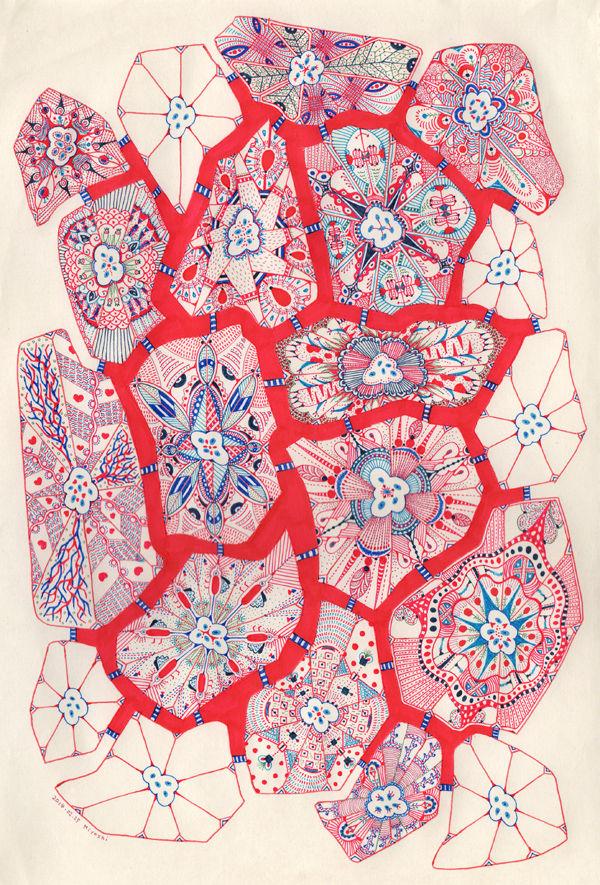 赤青の細胞