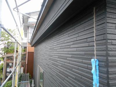 新潟県三条市の屋根外壁塗装リフォーム専門店 遠藤組 窯業系サイディング張り