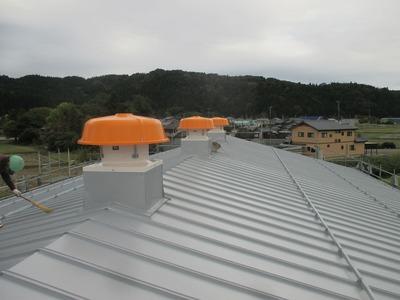新潟県三条市の屋根外壁塗装リフォーム専門店遠藤組 瓦棒葺カラーGL