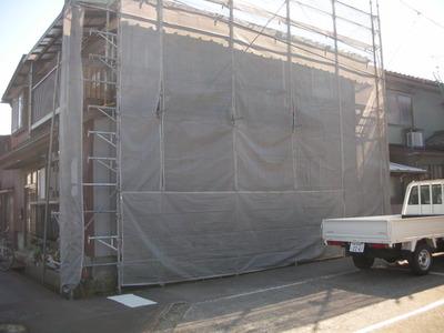 新潟県三条市の屋根外壁雨樋リフォーム専門店遠藤組 瓦を下してガルバリウム鋼板の屋根に