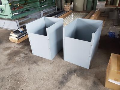 新潟県三条市の板金加工「遠藤板金工業」ボンデ鋼板1mm加工品