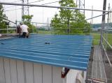 新潟県三条市の屋根外壁塗装リフォーム専門店《遠藤組》 長岡市K社折板屋根他