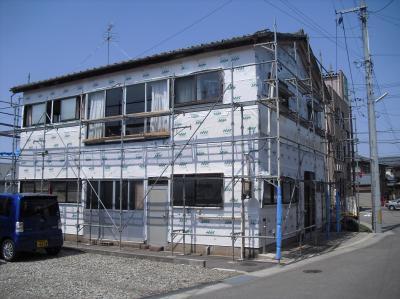 新潟県三条市屋根外壁塗装リフォーム専門店《遠藤組》T様邸外装工事