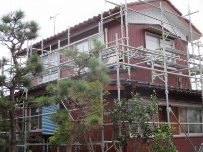 新潟県三条市の屋根外壁塗装リフォーム専門店遠藤組 外壁工事張り替え完了