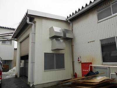 新潟県三条市の屋根外壁塗装リフォーム専門店遠藤組 ダクト工事
