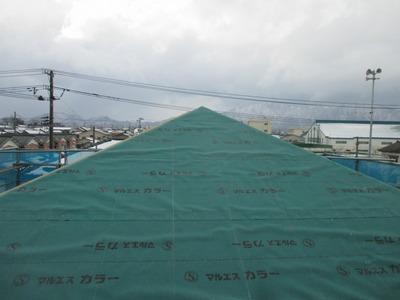 屋根下葺きアスファルトルーフィング  新潟県三条市の屋根外壁塗装リフォーム専門店 遠藤組