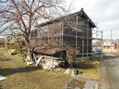 新潟県三条市の屋根外壁塗装リフォーム専門店遠藤組 外壁角波カラーGL0.35