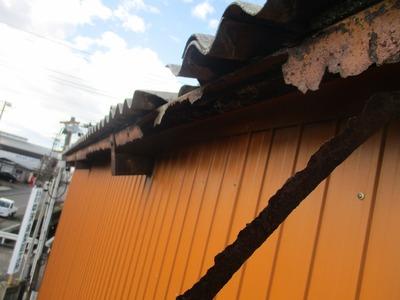 新潟県三条市の屋根外壁リフォーム専門店『遠藤組』 強風による被害、本日2件目