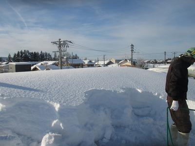 新潟県三条市の屋根外壁塗装リフォーム専門店遠藤組 雪下ろし 大雪