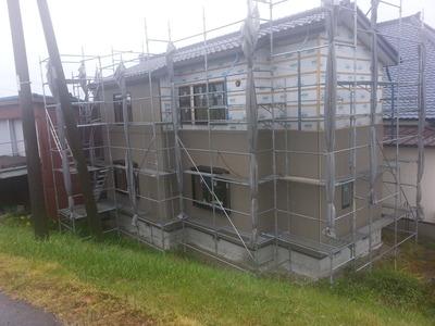 新潟県三条市の屋根外壁雨とい専門店 遠藤板金工業有限会社 サイディング工事