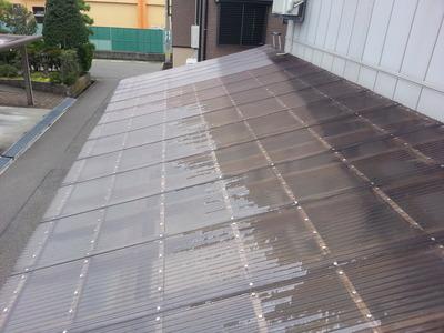 新潟県三条市の屋根外壁雨といリフォーム専門店《遠藤組》折板屋根に葺き替え