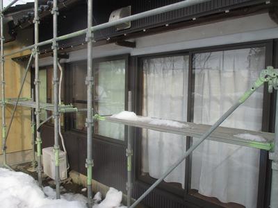 新潟県三条市の屋根外壁リフォーム専門店遠藤組(遠藤板金工業)角波カラーGL 角スパン風