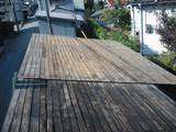 屋根軽量化 横葺き耐摩カラーGL