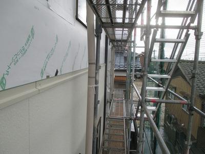 新潟県三条市の屋根外壁塗装リフォーム専門店 遠藤組 金属サイディング貼り