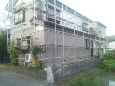 屋根外壁塗装リフォーム専門店 《遠藤組》 アイジーサイディングで貼替え
