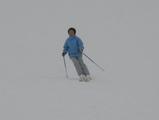 娘はスキーの才能があったんですが・・・・・・・・・・・・・。