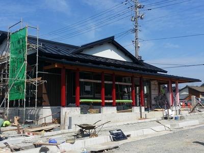 新潟県三条市の屋根外壁塗装リフォーム専門店 屋根瓦棒葺カラーGL0.4@455