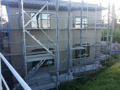 新潟県三条市の外壁金属サイディング工事 遠藤板金工業(有)