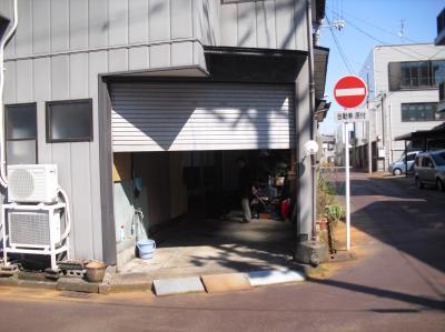 新潟県三条市屋根外壁塗装リフォーム専門店《遠藤組》電動シャッター