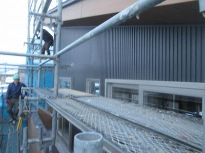 新潟県三条市の屋根外壁塗装リフォーム専門店遠藤組 寒い中、ご苦労様です