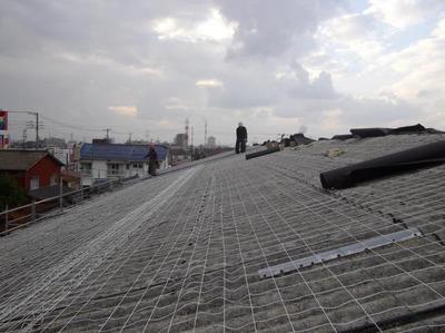 新潟県三条市の屋根外壁塗装リフォーム専門店遠藤組 スレート屋根のカバー工事