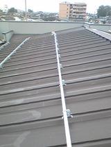新潟 三条 屋根外壁塗装リフォーム専門店遠藤組 屋根はカバー工法で0.5mm厚のカラーガルバリウム鋼鈑