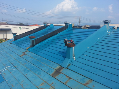 新潟県三条市の屋根外壁リフォーム専門店《遠藤組》長岡市 ラーメン屋さんの雨漏り修理