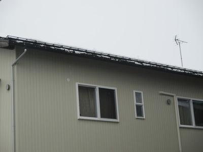 新潟県三条市の屋根外壁塗装リフォーム専門店遠藤組 軒先雪止め装置の取り付け