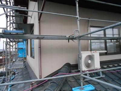 新潟県三条市の屋根外壁塗装リフォーム専門店遠藤組 アイジーガルフィーユで外壁張り替え工事