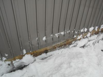 新潟県三条市の屋根外壁塗装リフォーム専門店 遠藤組 外壁角波カラーGL張替え