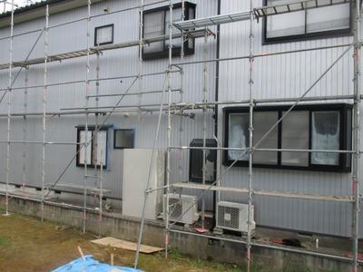 新潟県三条市の屋根外壁塗装リフォーム専門店遠藤組 角波カラーGL裏押し成型品0.35