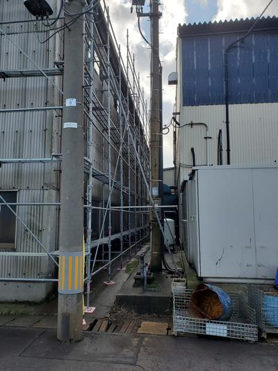 新潟県三条市の屋根外壁塗装リフォーム専門店『遠藤組』三条市のM社様外壁スレート板ビス留め補強