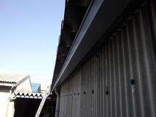 燕市M社様折板樋取り替え工事