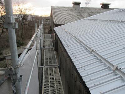 遠藤板金工業 屋根カバー工事 ステンレス屋根 やまなみルーフ 新潟県三条市