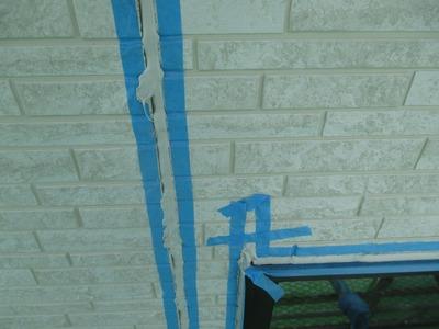 新潟県三条市の屋根外壁塗装リフォーム専門店遠藤組 目地のコーキング打ち