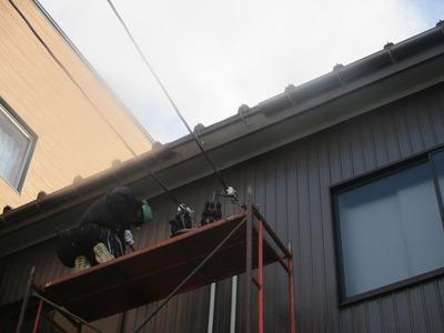 新潟県三条市の屋根外壁塗装リフォーム専門店 雨樋 修理