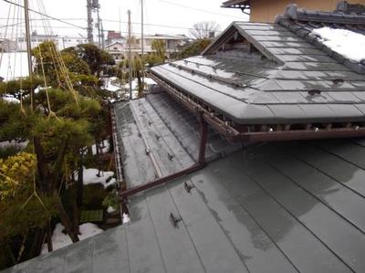 屋根・外壁・塗装リフォーム専門店《遠藤組》 カラーステンレス一文字葺き屋根