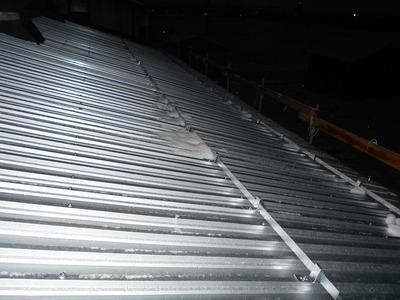 新潟県三条市の屋根外壁塗装リフォーム専門店 遠藤組 工場屋根外壁リフォーム工事