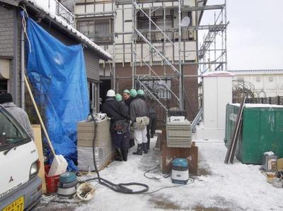 新潟 屋根外壁リフォーム専門店《遠藤組》外壁貼替え工事